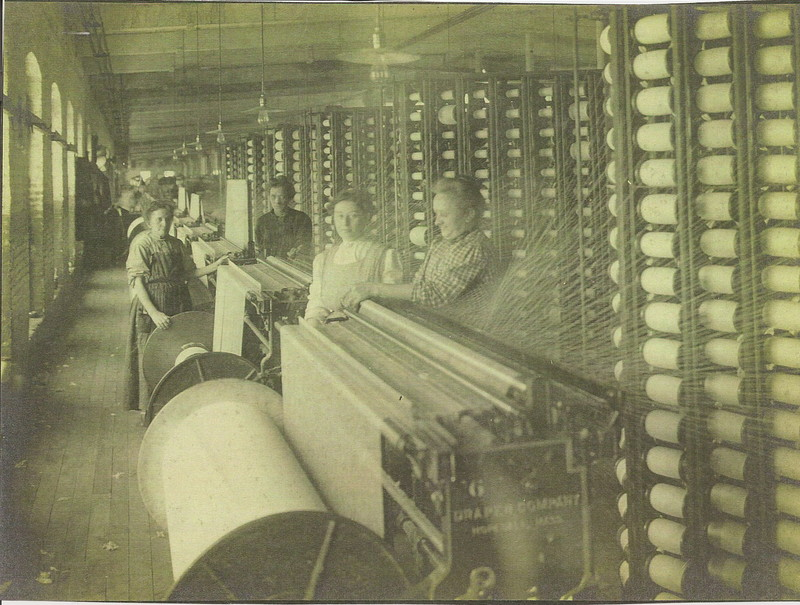 Female Cotton Mill Workers at Dwight Mill