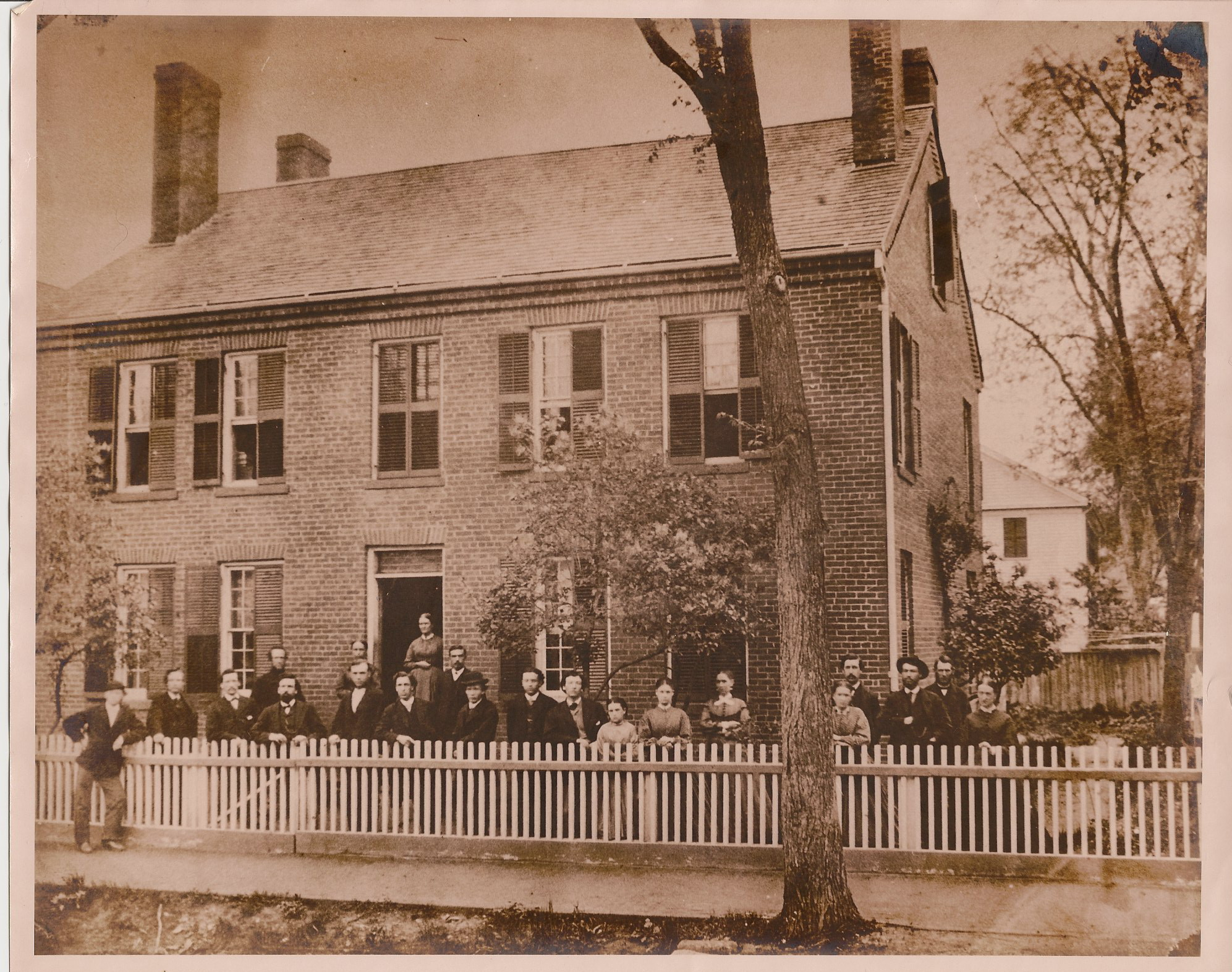 Mill Workers at Boarding House · Chicopee Archives Online
