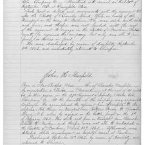John H. Maxfield, Civil War Soldier