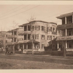 Three Deckers on Riverview Terrace