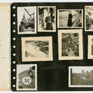 World War II Scrapbook Page 15