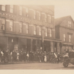 Fire in one of the oldest buildings in Chicopee Falls, May 7, 1921 (Theater)