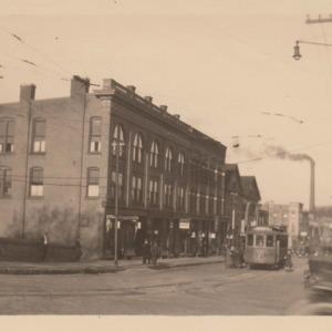 Blocks on south side of Main Street