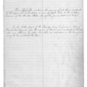 Description of Soldier's Record Book
