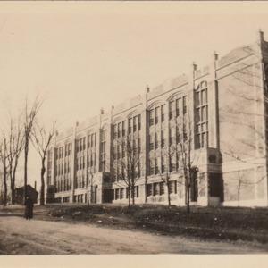 Chicopee High School Side View
