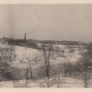 Snowy Chicopee River & Fisk Plant