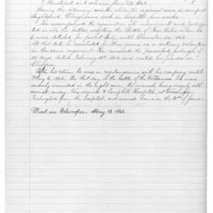 Edgar Clough, Civil War Soldier