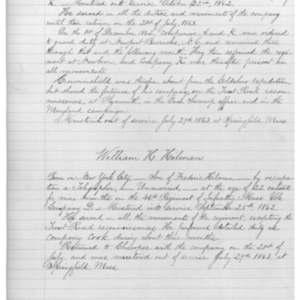 William H. Hilman, Civil War Soldier