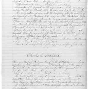 Charles C. Littlefield, Civil War Soldier
