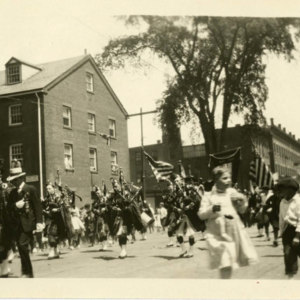 Procession on Exchange Street