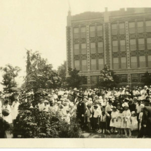 Chicopee Memorial Day in 1921