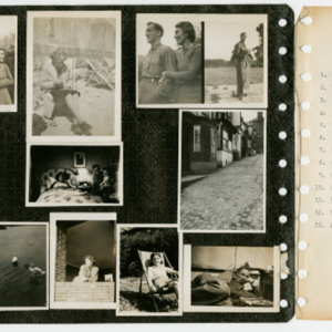 World War II Scrapbook Page 4