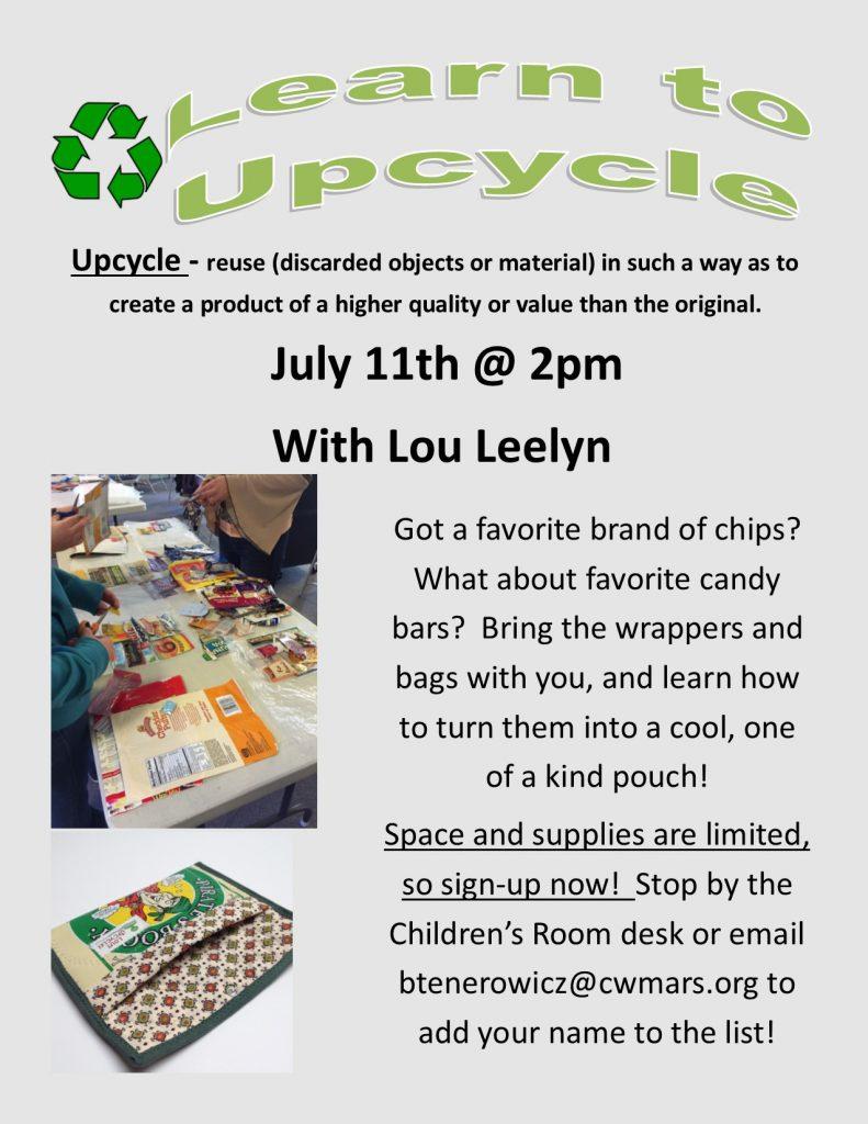 Upcycle flyer