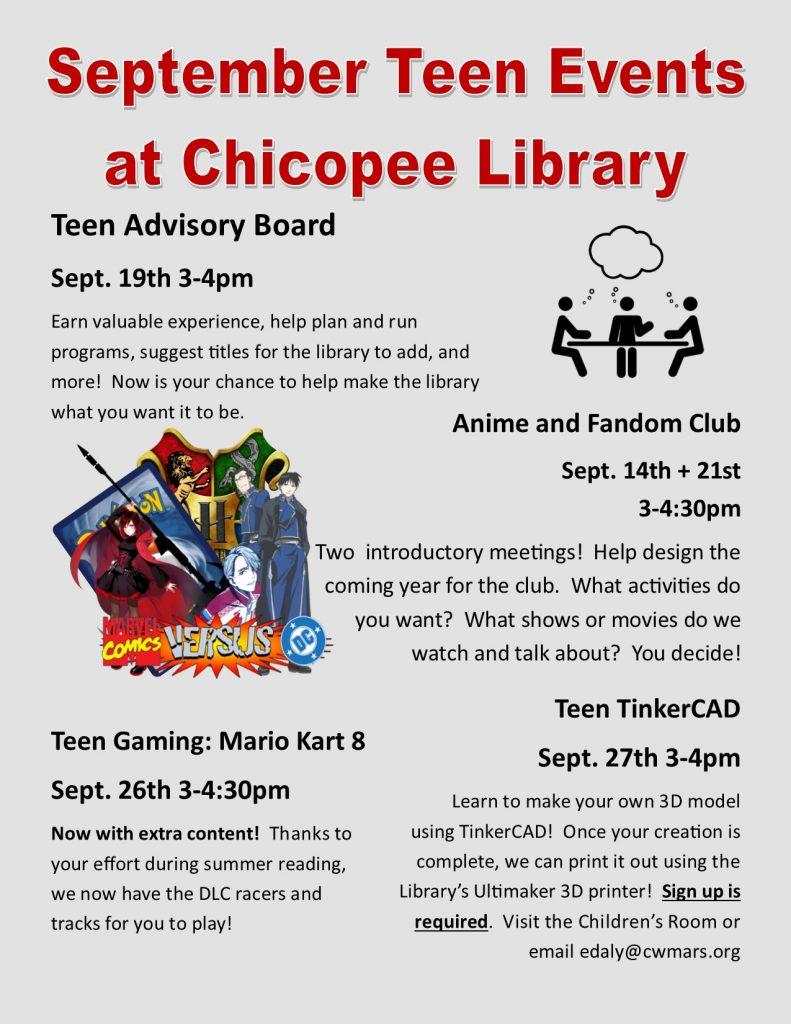 Sept event flyer